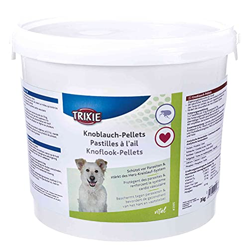 Trixie 2995 Knoblauch-Pellets, Hund, D/F/NL, 3 kg