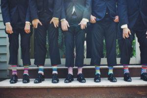 Imprägnierte Socken Strümpfe gegen Zecken