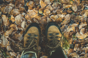 Zeckenschutz-Bekleidung Schuhe