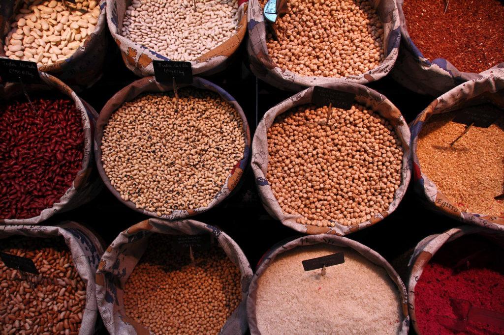 Getreide Bohnen Insektenschutz