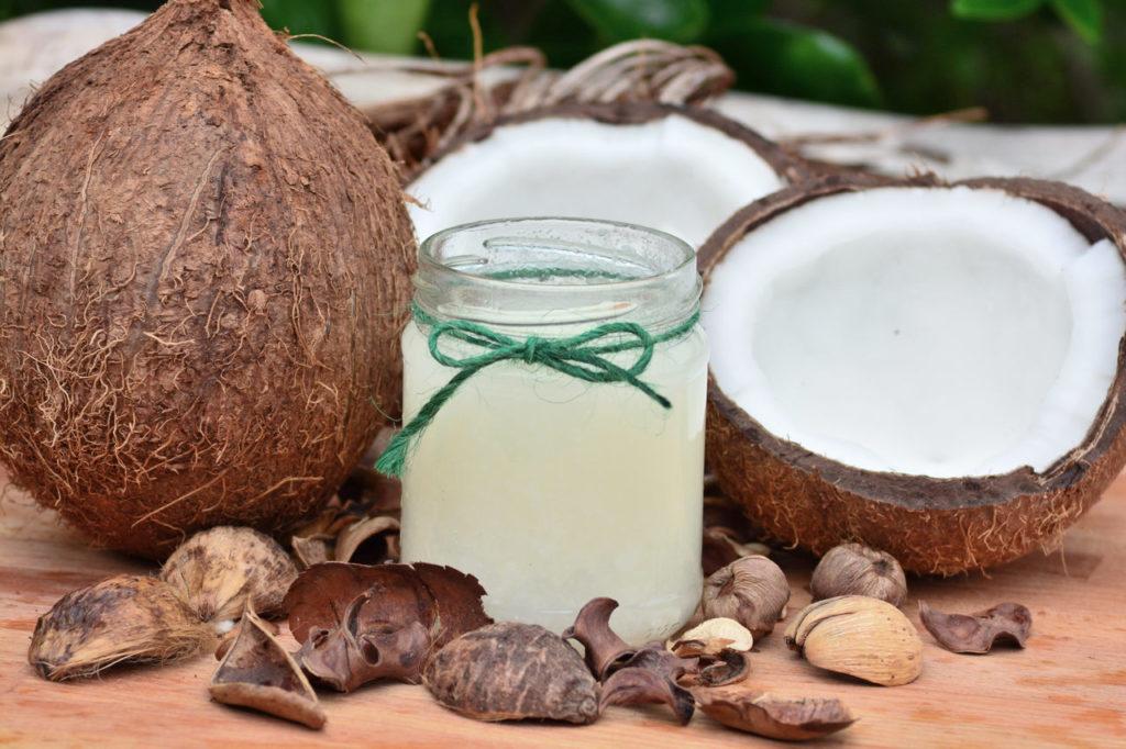 Kokosöl gegen Zecken Kokosnussöl