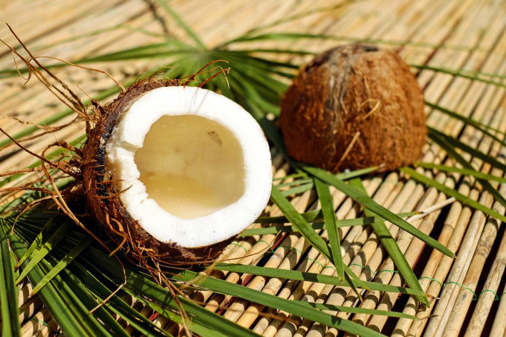 Kokosnuss Kokosfett