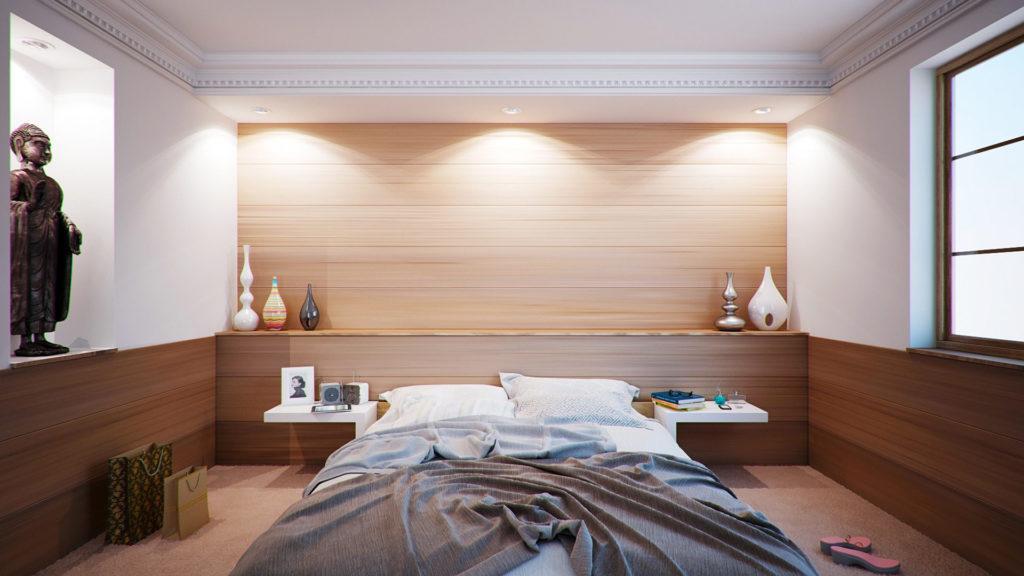 Wohnraum Schlafzimmer