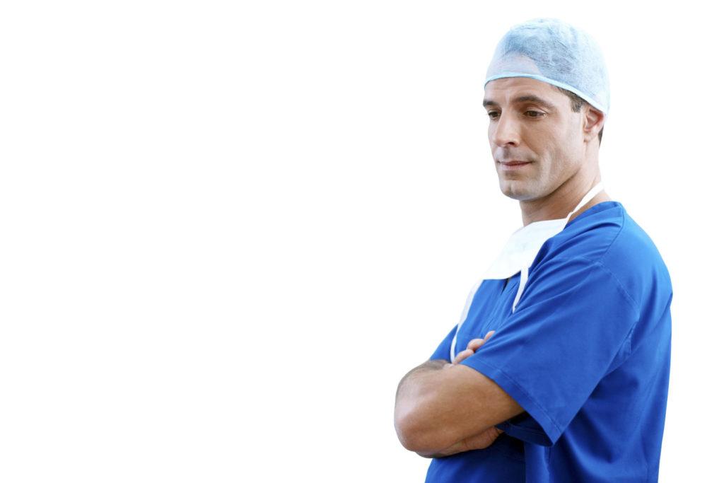 Arzt Zeckenkopf stecken geblieben entfernen
