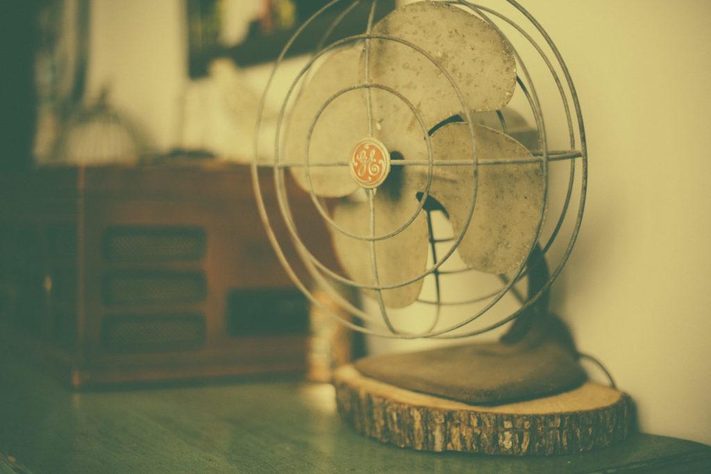 Ventilator gegen Wespen