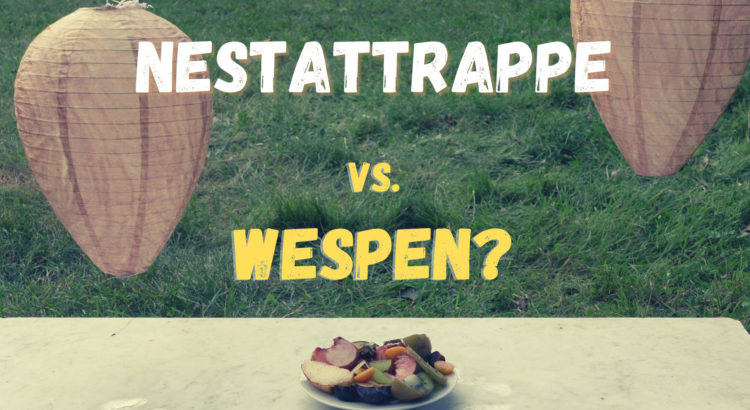 Wespennest-Attrappe
